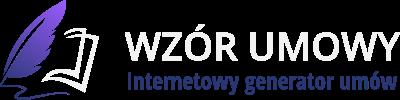 Logo Wzór Umowy - Internetowy Generator Umów